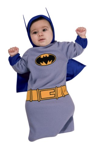 Batman The Brave And The Bold Baby Bunting, Batman Print, 0-9 Months Costume