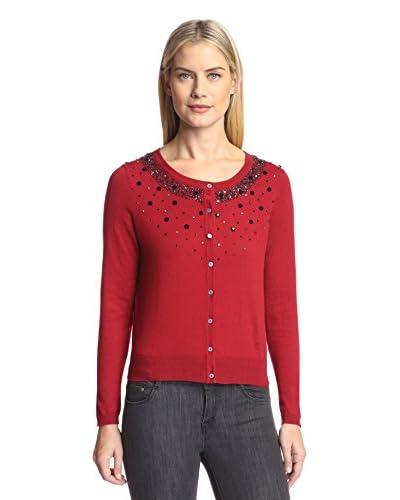 Cullen Women's Long Sleeve Beaded Cardigan