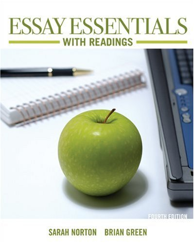 essay essentials with readings amazon Essay essentials with readings 5th edition price essay essentials with readings 5th edition price, browse and read essay essentials with readings 5th edition price.