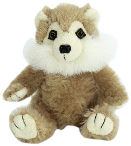 "Purr-Fection Tender Friend Wolf Sitting 6"" Plush"