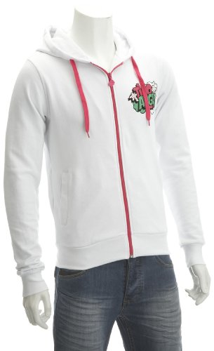 Two Angle Bourso Hoody White Men's Jumper White Medium