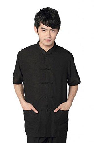 shanghai-story-men-chinese-short-sleeve-cotton-tang-suit-kung-fu-shirt-black-2xl