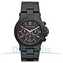 Michael Kors Chronograph Ceramic 50M Ladies Watch - MK5565