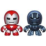 Marvel Avengers Mini Mighty Muggs 2 pack Silver Centurion vs. Iron Monger
