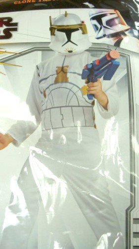 Clone Trooper Child Costume Small - 4-6X