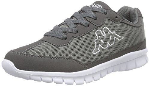 Kappa Rocket, Unisex-Erwachsene Sneakers, Grau (1310 anthra/white), 39 EU (6 Erwachsene UK) thumbnail
