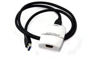 USB 3.0 to HDMI/DVI Multi Monitor Video Adapter