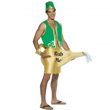 Rasta Imposta Genie In The Lamp Adult Costume One-Size