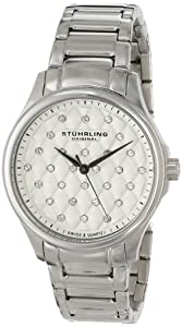 Stuhrling Original Women's 567.01 Vogue Culcita Analog Display Swiss Quartz Silver Watch