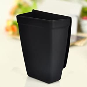 Black Soft Silicon DIY Hairdressing Tools Suckers Storage Pouch for Salon Home