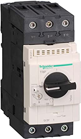 Schneider electric gv3p50 manual starter 600vac 50 amp iec for Schneider motor starter selection guide