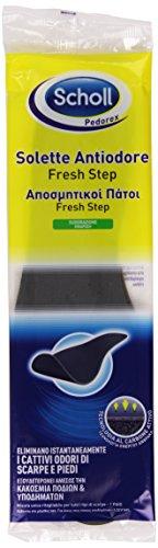Scholl - Solette Antiodore, Eliminano I cattivi Odori di Scarpe e Piedi -   1 Paio