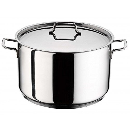 Pentola inox perfect 24cm con coperchio beta 23573