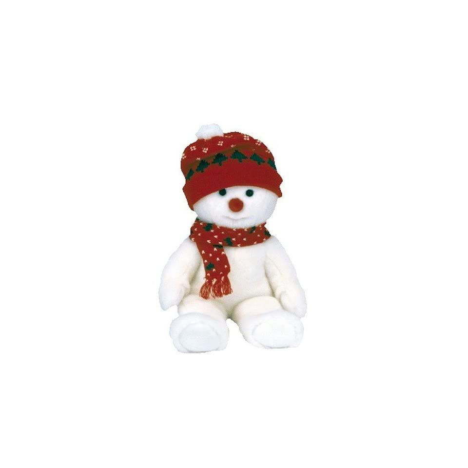 e9fe07b384b Ty Beanie Buddies Snowboy the Snowman on PopScreen
