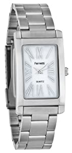 Ferretti Men's | Silver Bracelet & Square Dial | FT10902
