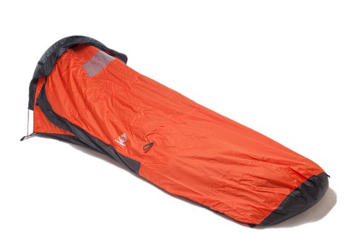 Aqua-Quest Waterproof  &  Lightweight Tent 'Hooped' Single Pole Bivvy Bag - Orange Model