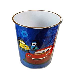 Disney Pixar Cars Plastic Trash Can from UPD