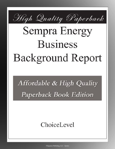 Buy Sempra Energy Now!