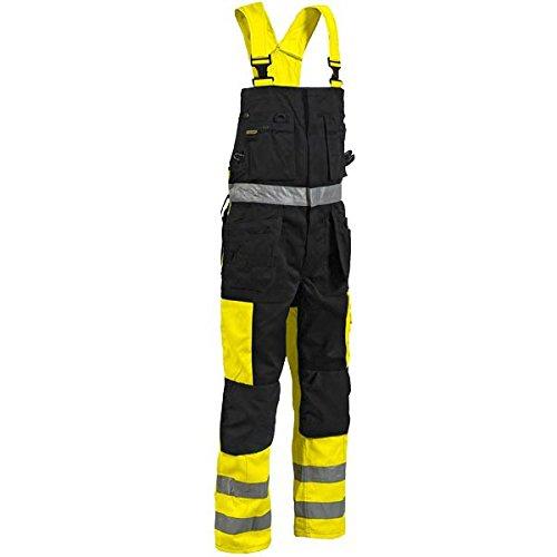 Blakläder Warnschutz Latzhose zweifarbig Klasse 2 26031860  BekleidungKundenbewertung und weitere Informationen