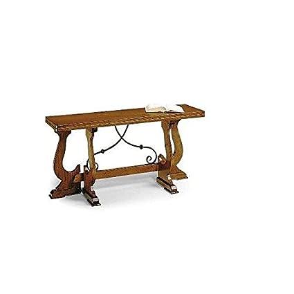 Table console fer extensible 160x 40-Comme photos