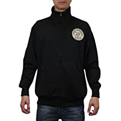 NCAA Purdue Boilermakers Mens Zip-Up Track Jacket with Embroidered Logo by NCAA