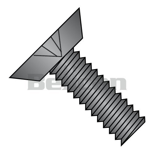 82 Degree Flat Undercut Head Phillips Drive #6-32 Thread Size Plain Finish 3//4 Length Pack of 50 18-8 Stainless Steel Thread Cutting Screw Type 23