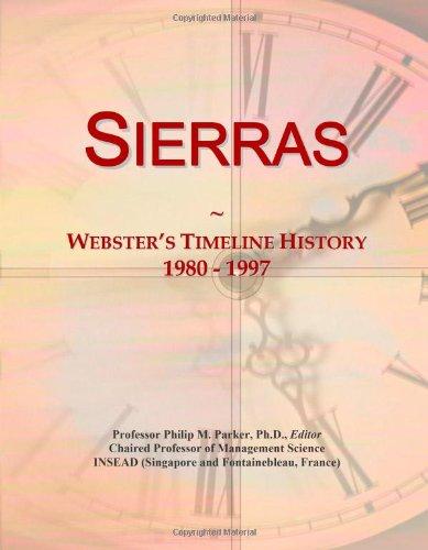 Sierras: Webster's Timeline History, 1980 - 1997