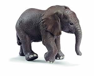 Amazon.com: Schleich African Elephant Calf 14322: Toys & Games