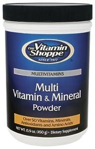the Vitamin Shoppe - Multi Vitamin & Mineral Powder, 16.95 oz powder