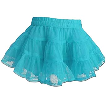 baby boutique bright blue tutu skirt