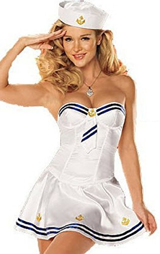 3 Pc  (Making Waves Sailor Costume)