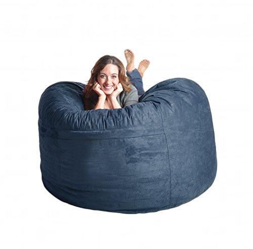 Remarkable Affordable Slacker Sack 5 Feet Memory Foam Microsuede Ncnpc Chair Design For Home Ncnpcorg