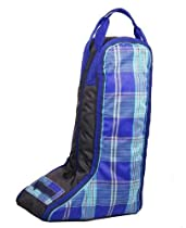 Kensington KPP Roustabout Boot Bag, Eng Hunter Plaid, One Size