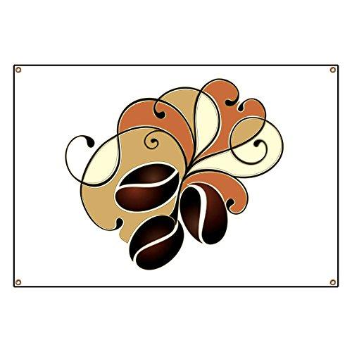 Banner Coffee Bean Floral
