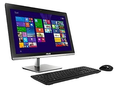 "Asus 23"" Full HD Touchscreen All-In-One Desktop PC, Intel Core i5-5200U processor, 8GB RAM, 2TB HDD, DVD+/-RW, WIFI, Webcam, HDMI, Bluetooth, Windows 8.1 (Certified Refurbished)"