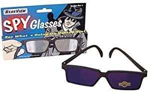 Rearview Spy Glasses Mirror Vision - See What's Behind You!