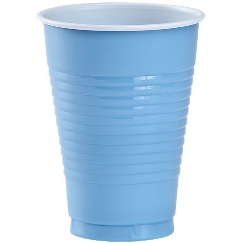 Party Dimensions 81132 20 Count Plastic Cup, 12-Ounce, Light Blue (Light Blue Party Cups compare prices)
