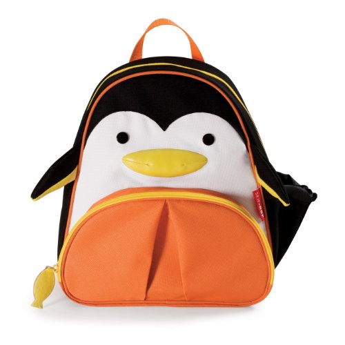 Best Review Of Skip Hop Zoo Pack Little Kid Backpack, Penguin