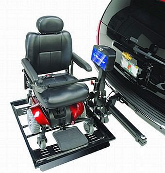 Harmar Mobility AL560 Automatic Powerchair Lift Outside Carrier + AL105 Swing Away Joint + FREE Challenger Vinyl Cover