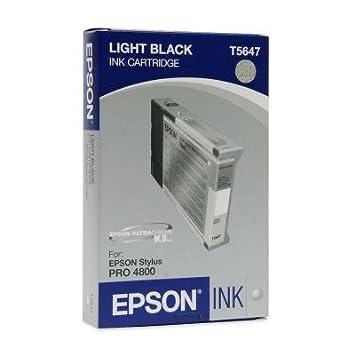 Epson Cartouche d'encre d'origine Pigment gris (110 ml) T564700