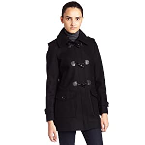 winter outerwear tommy hilfiger womens wool duffle coat. Black Bedroom Furniture Sets. Home Design Ideas
