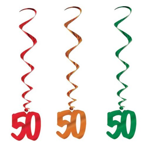 50 Whirls (asstd colors)    (5/Pkg) - 1