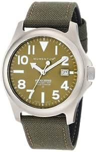 Momentum Herren-Armbanduhr XL ATLAS Analog Quarz Textil 1M-SP00G6G