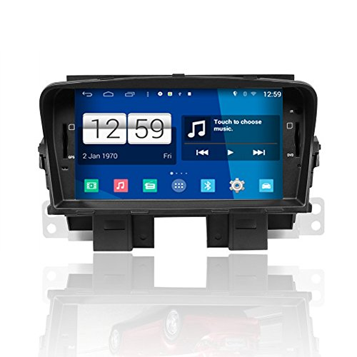 Pure Android 4.4.4 1024600 Capacitive Screen 1.6g CPU Quad Core 1g RAM Car DVD Player for Chevrolet Cruze 2008-2011 with GPS Navigation Radio Bluetooth Tv Usb/sd Free Map (Chevy Cruze Gps compare prices)