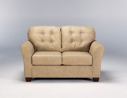 Buy Low Price Ashley Furniture CARMICHAEL NATURAL LOVESEAT