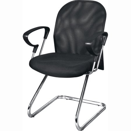 2 X Ergonomic Side Stack Reception Mesh Office Chairs- Wy696