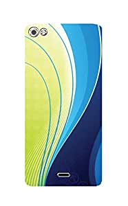 Zapcase Printed Back Case For Micromax Canvas Silver 5 Q450