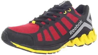 Reebok ZigKick Running Shoe (Little Kid/Big Kid),Red/Black/Yellow/Silver,11 M US Little Kid