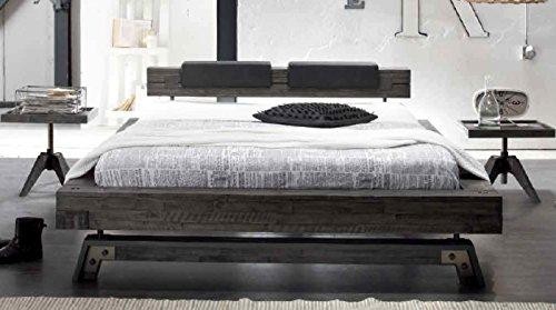 HASENA Factory Line Bettgestell Akazie vintage grey 140×200 jetzt bestellen