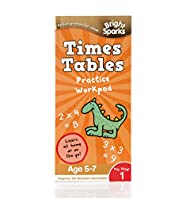 Bright Sparks Key Stage 1 Times Tables Practice Workpad